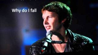 James Blunt - Why do i fall (New Song)
