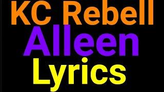 KC Rebell | Alleen | Lyrics