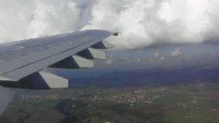 preview picture of video 'Kuwait Airways Airbus 300-600R Landing at Rome Fiumicino'