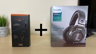 Philips SHP9500 & V-Moda BoomPro Combo