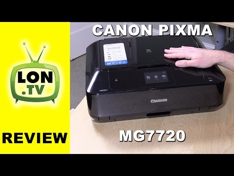 Canon Pixma MG7720 Review – Wireless All-In-One Printer with Scanner – Air Print Google Cloud Print