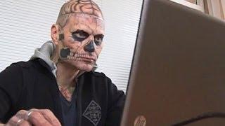 Татуировки мертвеца по всему телу