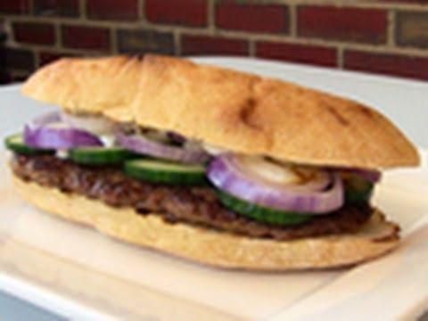 Video Lamb Kofta Burgers - Video Recipe