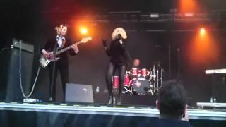 Chisu - Frankenstein & Muut @ SuomiPop Festarit 2012