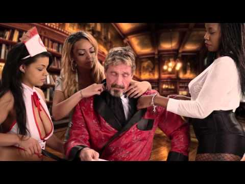 John McAfee, founder of McAfee Antivirus, hates what his former product has become. He makes outrageous videos like these in an attempt to damage McAfee's brand