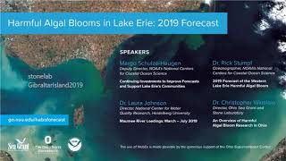 2019 Lake Erie HABs Forecast