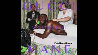 Gucci Mane Ft Kevin Gates   Bucking The System #SLOWED