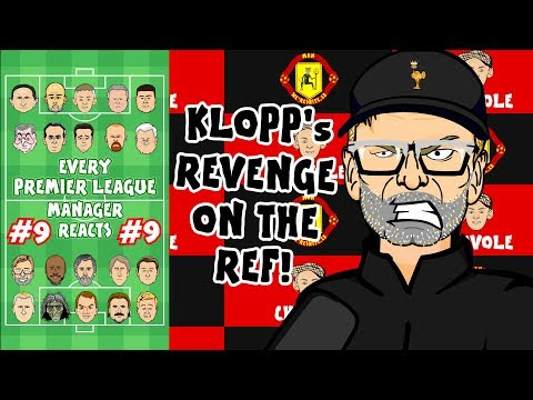 🤣Arsenal lose! Klopp fumes at VAR!😤 #9 Every Premier League Manager Reacts!