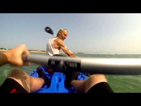 Stokes Bay - Wilderness Tarpon 130T Kayak