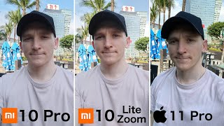 Xiaomi Mi 10 Lite Zoom - CAMERA TEST vs Mi 10 Pro / iPhone 11 Pro