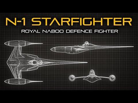 Stíhač N-1 z planety Naboo – Star Wars