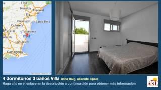 preview picture of video '4 dormitorios 3 baños Villa se Vende en Cabo Roig, Alicante, Spain'