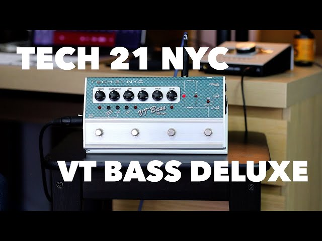 Tech 21 SansAmp VT Bass Deluxe Pedal Review / All The Tones You Need On A Jazz Bass