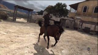 Red Dead Redemption - Taming a Horse