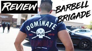 BARBELL BRIGADE Defiant Collection shirt review | DEADLIFT DAY