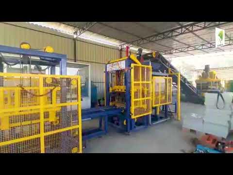 Q Green RT3- Pre Feeder-Bin System Concrete Block Making Machine