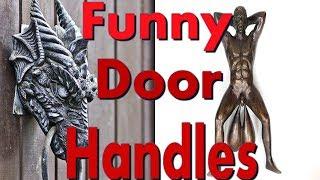 Most Creative Door Handles | Most Creative Door Knockers | Unusual Design Of Door Handles