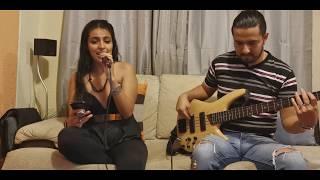 Marco Mares, Nicole Zignago - La Ola (voz y bass cover) #MARCOVERS
