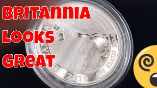 My New 2019 Britannia Six-Coin Proof Silver Set.  Much Nicer Than I Thought!  ++