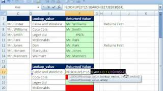 Excel Magic Trick 323: Partial Text VLOOKUP (Fuzzy Match)