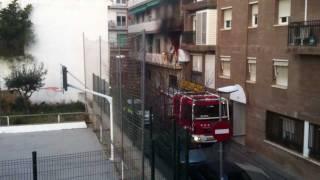 preview picture of video 'Incendio Canet de Mar (2)'