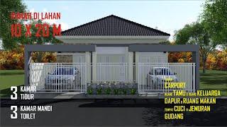 98 Gambar Rumah Minimalis 10 X 20 Gratis