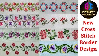 Cross Stitch Designs || New Cross Stitch Borders Designs