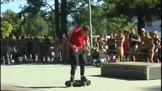 preview picture of video 'Maccagno: Maccagno beach 2009'
