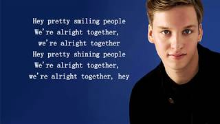George Ezra   Pretty Shining People (Lyrics)