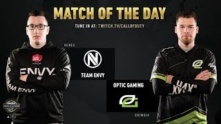 Optic Gaming vs Team Envy | CWL Pro League 2019 | Cross-Division | Week 12 | Day 3
