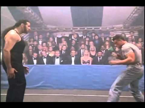 LIONHEART 1990   Final Fight REDUX Van Damme vs Attila   YouTube