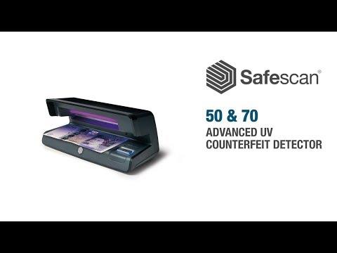 Safescan 50 UV Counterfeit Detector video thumbnail