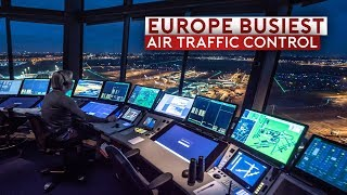 Inside Europe's Busiest Air Traffic Control – Amsterdam