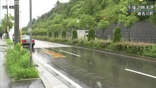 兵庫県で大雨続く土砂災害や河川の増水に警戒