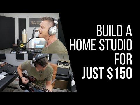 להקים אולפן הקלטות ביתי ב-$159 ?!