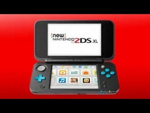 The New Nintendo 2DS XL - Black and Turquoise Review  and Comparison