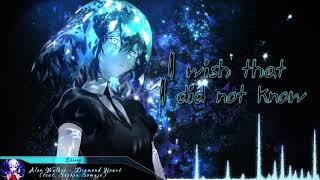 Nightcore   Diamond Heart (Alan Walker) | (Lyrics)