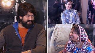 KGF Movie Team Funny Interview With Mangli | Yash | Srinidhi Shetty | TFPC