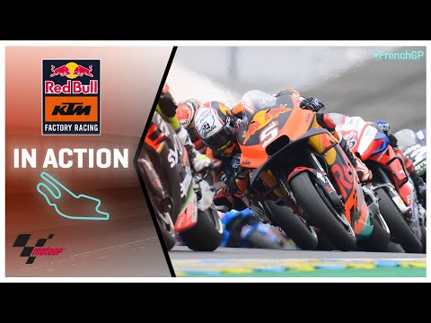KTM in action: SHARK Helmets Grand Prix de France