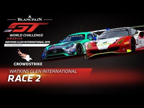 Race 2 - WATKINS GLEN - Blancpain GT World Challenge America - LIVE US only.