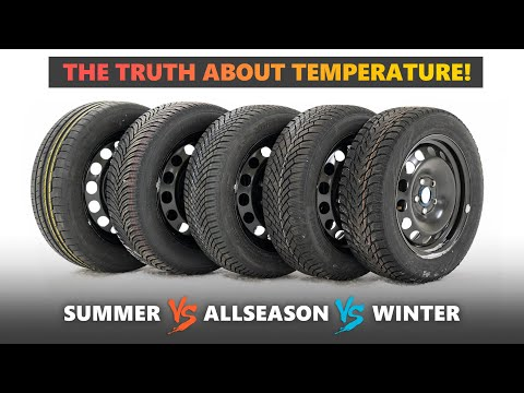 The TRUTH About Winter, All Season and Summer Tires ❄ Tested at 0c, 2c, 6c, 10c, 15c
