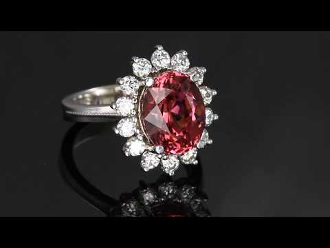 Mahenge Garnet Ring by Christopher Michael
