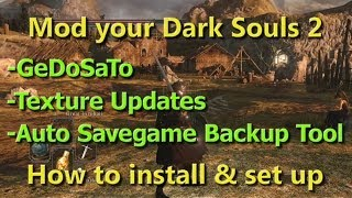How to mod Dark Souls 2
