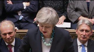 British PM Theresa May postpones Brexit Vote