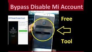 Xiaomi Redmi Note 3 Mi Account Bypass With One click New Mi