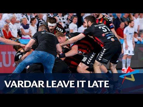 Vardar leave it late   Quarter-final   VELUX EHF Champions League 2017/18