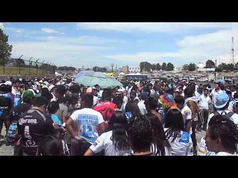 """""""puebla fc. porra"""" Barra: Malkriados • Club: Puebla Fútbol Club"""
