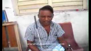 preview picture of video 'Ciego no recibe servicio social del gobierno'