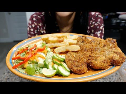 Steak Milanesa and Fries Recipe
