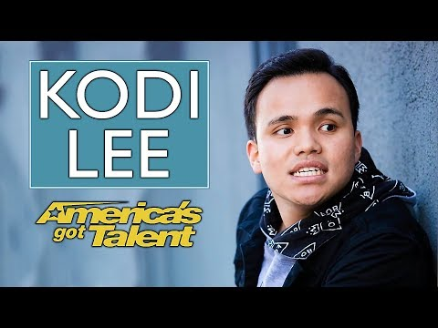 What AGT didn't tell you about Kodi Lee | America's Got Talent 2019 Season 14 (видео)